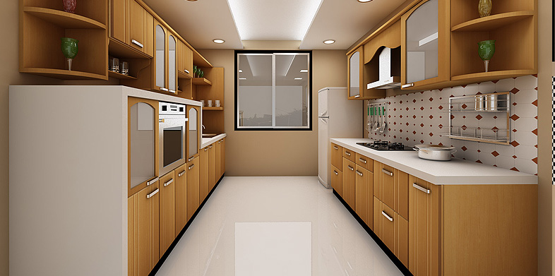... Utilization Of Available Space Without Compromising On Convenience Of  Movement And Cooking. Preferable For Apartments That Are Small In Size,  These Are, ...